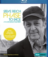 "Blu-ray Стив Рейх: фильм ""Phase to Face"" / Стив Рейх: фильм ""Phase to Face"""