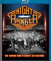 Blu-ray Night Ranger: 35 лет и Ночь в Чикаго / Night Ranger: 35 Years and a Night in Chicago (2016)
