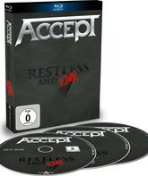 Blu-ray Accept: Беспокойный / Accept: Restless and Live (2015)