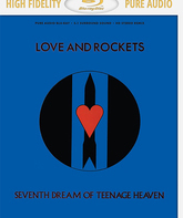Blu-ray Love And Rockets: Седьмая мечта о подростковых небесах / Love And Rockets: Seventh Dream Of Teenage Heaven (1985)