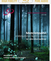 Blu-ray Мендельсон: Сон в летнюю ночь / Mendelssohn: A Midsummer Night's Dream - London Symphony Orchestra (2016)