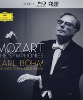 Blu-ray Моцарт: Симфонии (запись Карла Бёма) / Mozart: The Symphonies - Karl Böhm & Berliner Philharmoniker (1959-1968)