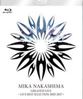 "Blu-ray Мика Накашима: сборник ""Лучшие выступления 2003-2017"" / Mika Nakashima: Greatest Live ""LIVE BEST SELECTION 2003-2017"""