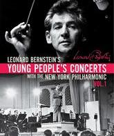 "Blu-ray Леонард Бернcтайн в телешоу ""Young People's Concerts"" (Сборник 1) / Leonard Bernstein's Young People's Concerts Vol. 1 (1958-1972)"