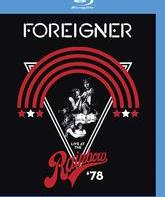 Blu-ray Foreigner: концерт в Rainbow Theatre (1978) / Foreigner: Live at the Rainbow '78