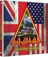 Def Leppard: шоу в Лондоне и Лас-Вегасе (Digibook) / Def Leppard: London to Vegas (Deluxe Limited Edition) (Blu-ray)