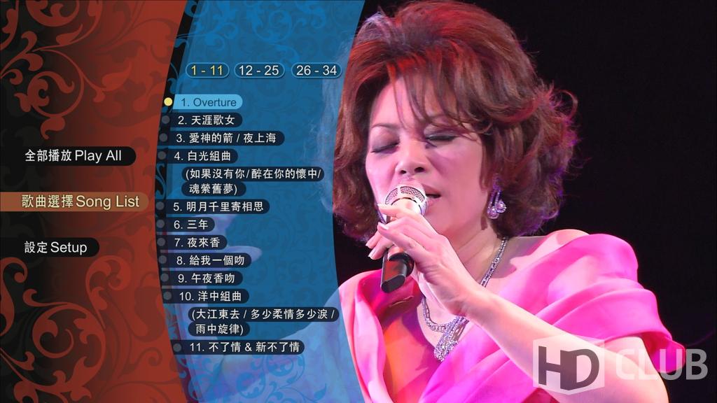 """Скриншоты меню, обложки и кадры видео c Blu-ray диска """"Цай Чин ..."""